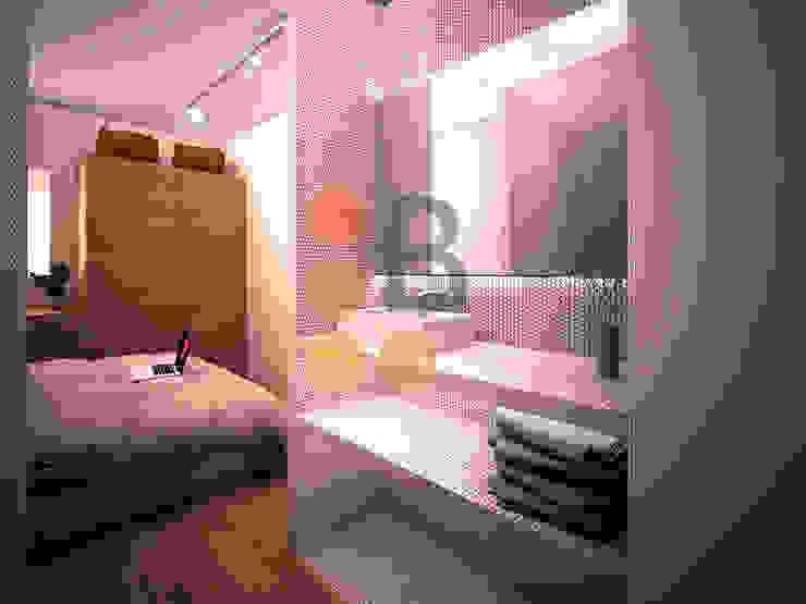 Renders. 3D. Bathroom de Brick Serveis d'Interiorisme S.L.