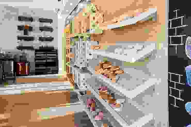 La Panadería Centros comerciales de estilo rústico de Macizo Carpintería Rústico