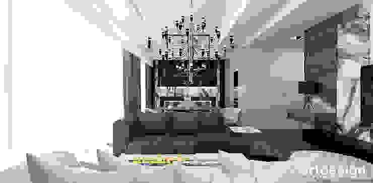 LOOK #33   Apartament Nowoczesny salon od ARTDESIGN architektura wnętrz Nowoczesny