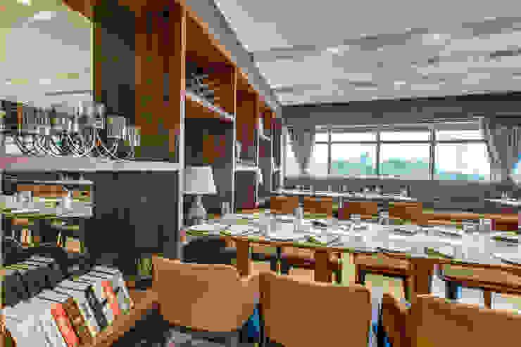Little Italy Pune Modern dining room by Aijaz Hakim Architect [AHA] Modern