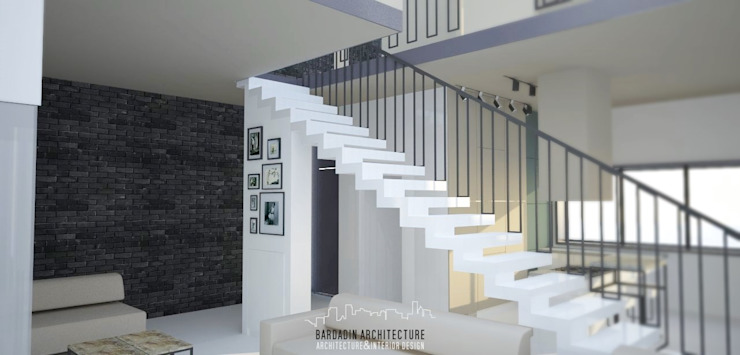 Bardadin Architecture - Residential building Nowoczesny salon od Bardadin Architecture Nowoczesny