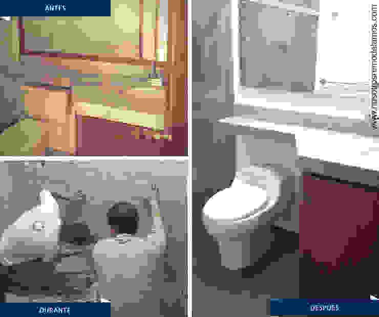 Proyectos Remodelación Baños de estilo moderno de Nosotros Remodelamos Moderno