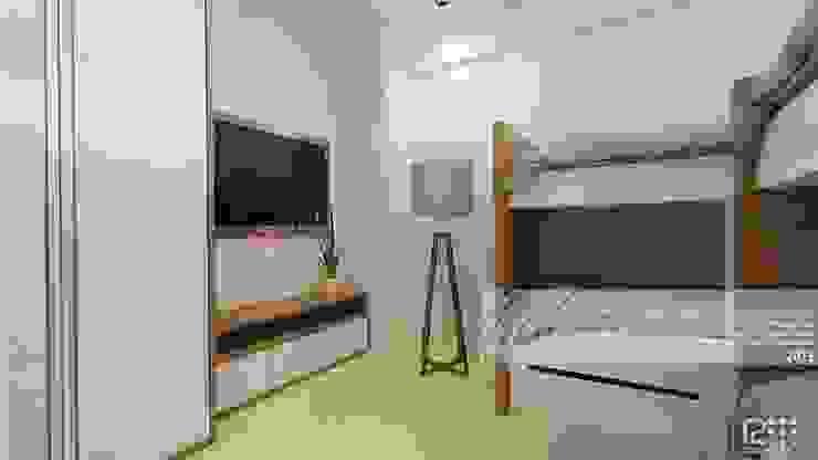 モダンスタイルの寝室 の Arq.AngelMedina+ モダン
