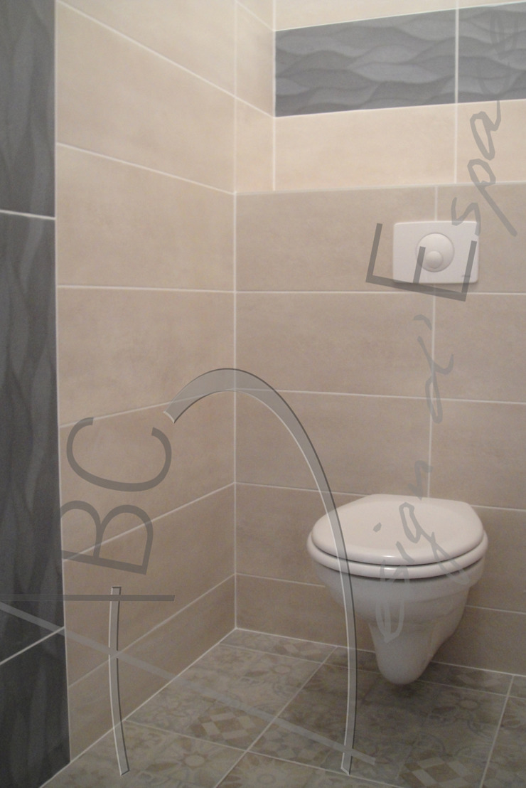 Rustic style bathroom by ABC Design d'Espace Rustic