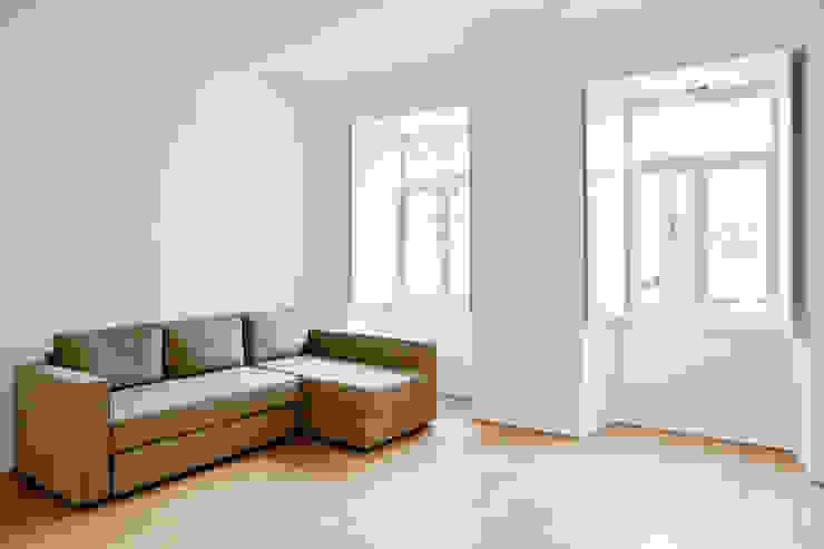 Apartamento no Restelo Salas de estar modernas por phdd arquitectos Moderno