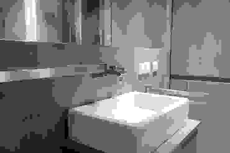 19 Dzielnica Nowoczesna łazienka od FusionDesign Nowoczesny Beton