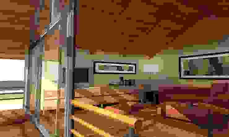 Casa Besares Livings modernos: Ideas, imágenes y decoración de Claros Escalada Arquitectos y Asociados Moderno