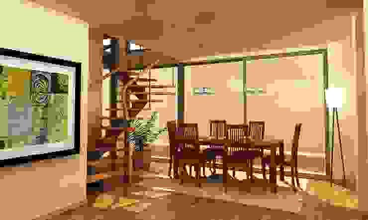 Casa Besares Comedores modernos de Claros Escalada Arquitectos y Asociados Moderno