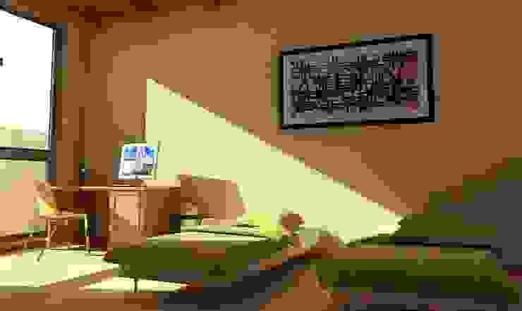 Casa Besares Dormitorios modernos: Ideas, imágenes y decoración de Claros Escalada Arquitectos y Asociados Moderno
