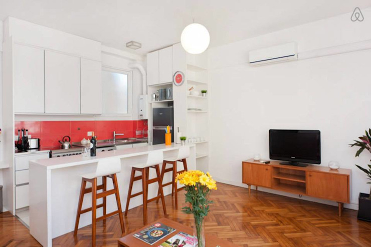 Larrea Apartamento Comedores modernos de Ballesteros | Arquitectos Moderno
