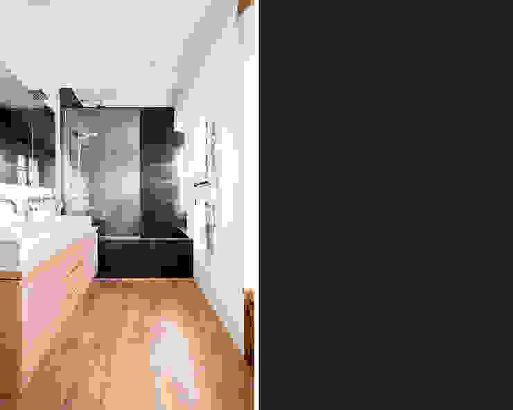 Objekt 223 / meier architekten meier architekten zürich Rustikale Badezimmer Holz