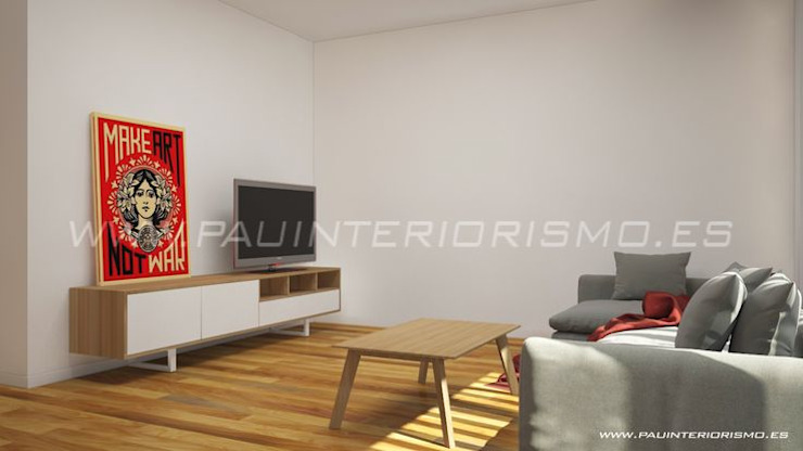 Pau Interiorismo Modern living room