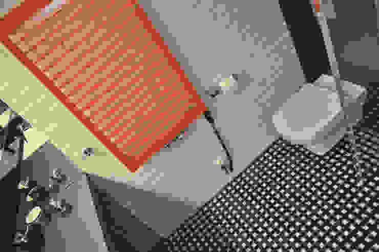 Metamorfoza Nowoczesna łazienka od Nidus Interiors Dominika Wojciechowska Nowoczesny