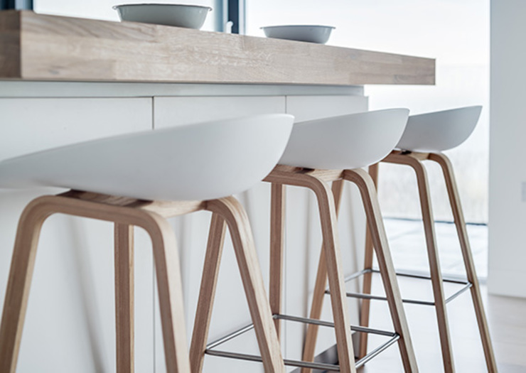 New Contemporary House, Polzeath, Cornwall Modern kitchen by Arco2 Architecture Ltd Modern