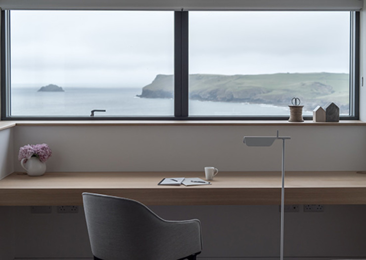 New Contemporary House, Polzeath, Cornwall by Arco2 Architecture Ltd Сучасний