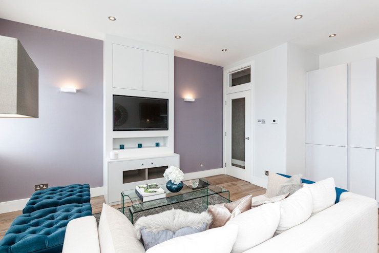 Fulham Penthouse Yohan May Design Modern living room