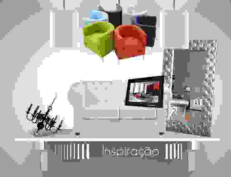 Inspiração, Decoração & Interiores의 현대 , 모던
