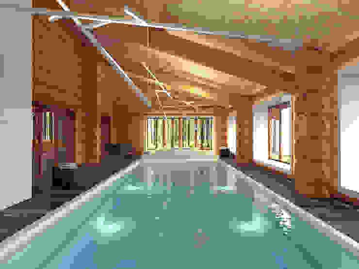 Scandinavian style spa by A-partmentdesign studio Scandinavian Wood Wood effect