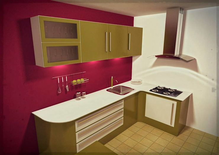 Modern kitchen by Laboratorio 3d Modern