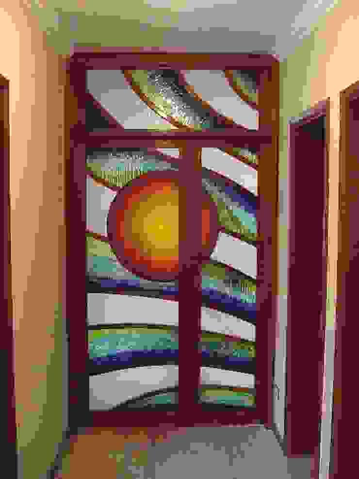 modern  by Indigo Glass Art, Modern Glass