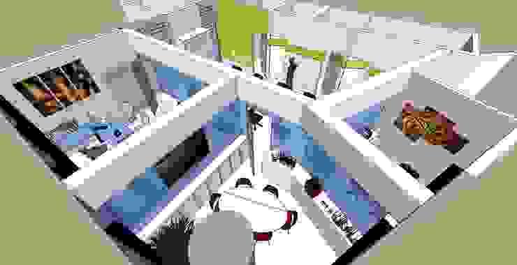 Oficina Mangia de Proyectos MAF Moderno