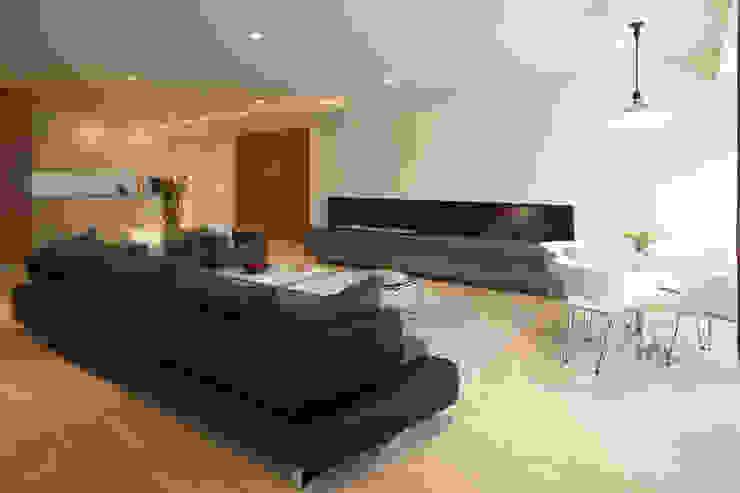 Armoni Salones modernos de ARCO Arquitectura Contemporánea Moderno