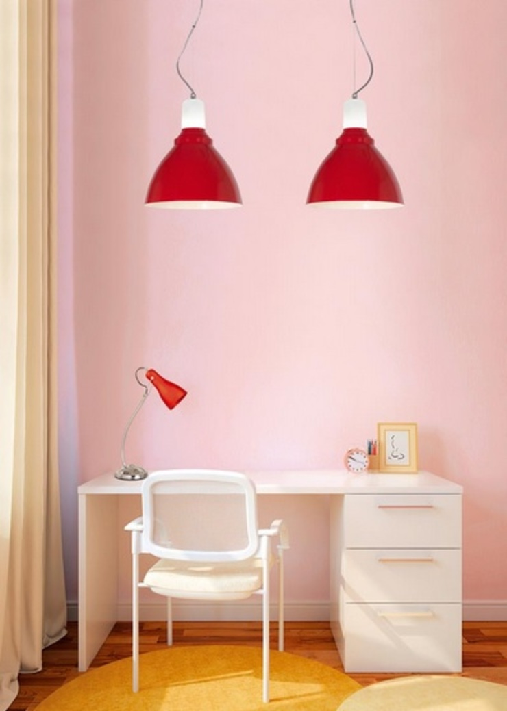 Angelo Luz + Diseño 書房/辦公室照明 合板 Red