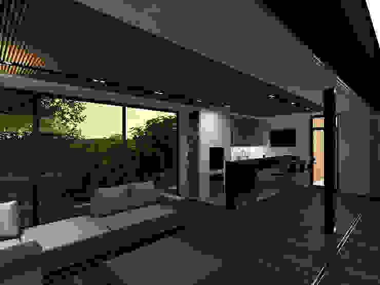 Minimalist media room by A-partmentdesign studio Minimalist Solid Wood Multicolored