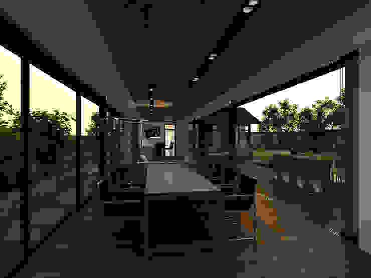 Terrazas de estilo  por A-partmentdesign studio