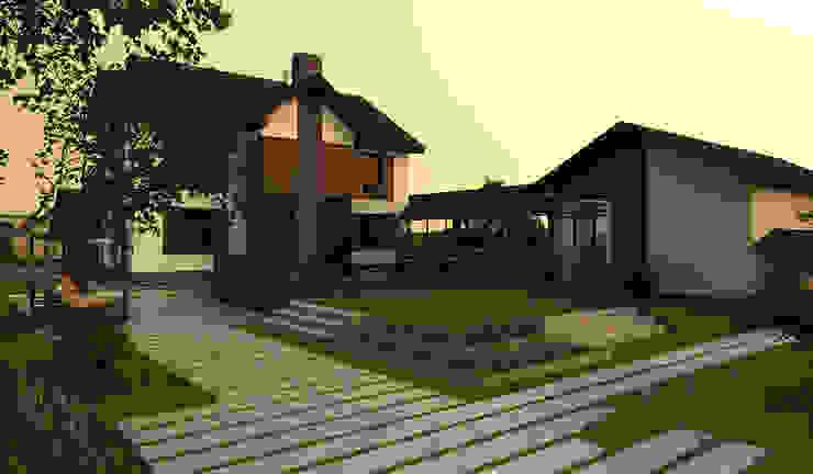 A-partmentdesign studio의  주택, 미니멀 돌
