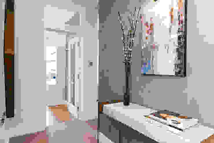 Fulham Penthouse Yohan May Design Modern corridor, hallway & stairs