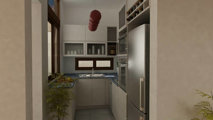 Modern style kitchen by ARQUITECTA MORIELLO Modern