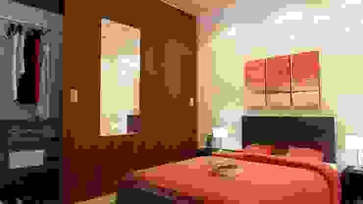 REMODELACION Y AMPLIACION PH BARRACAS, C.A.B.A Dormitorios modernos: Ideas, imágenes y decoración de ARQUITECTA MORIELLO Moderno