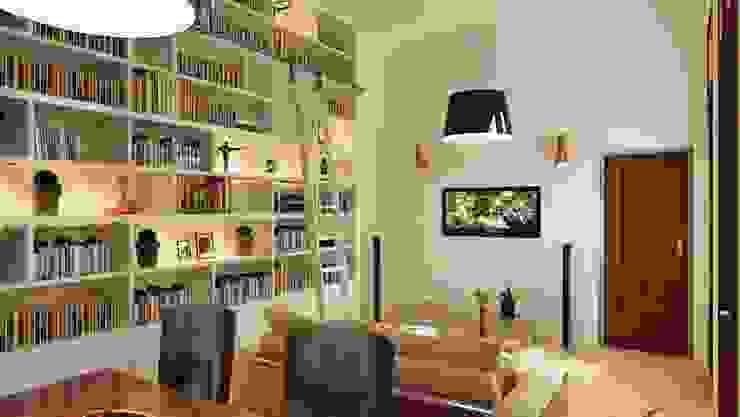 Livings de estilo moderno de ARQUITECTA MORIELLO Moderno