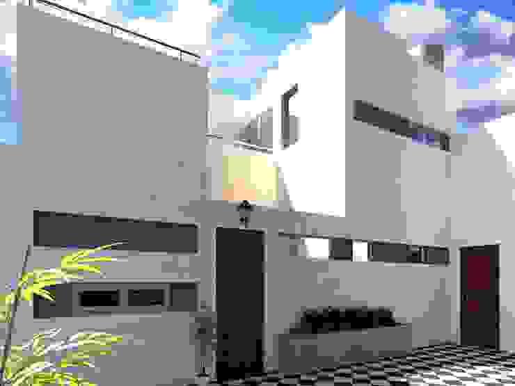 REMODELACION Y AMPLIACION PH BARRACAS, C.A.B.A Casas modernas: Ideas, imágenes y decoración de ARQUITECTA MORIELLO Moderno