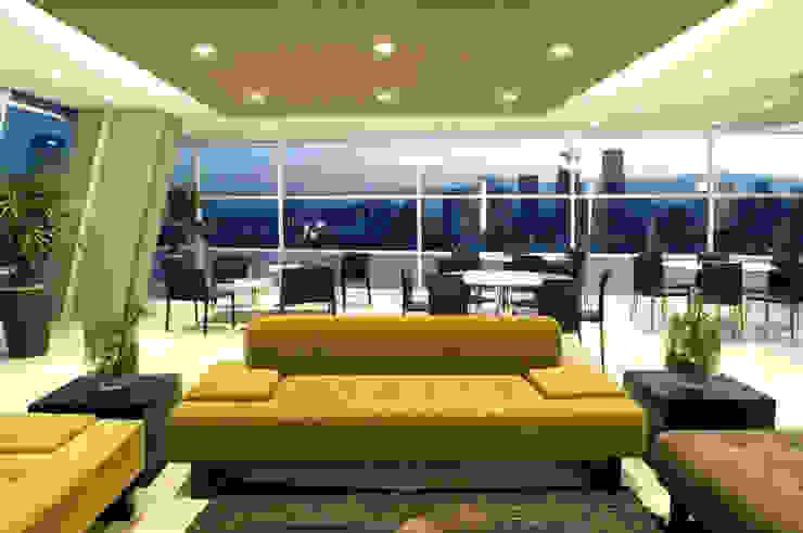 Skyview Ejercito Salones modernos de ARCO Arquitectura Contemporánea Moderno