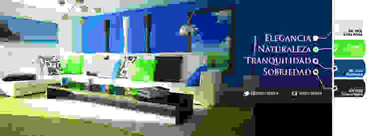 Ideas de colores Paredes y pisos de estilo moderno de PINTURAS VF C.A. Moderno
