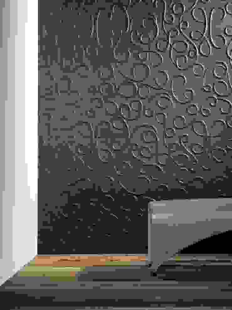 モダンな 壁&床 の Slendy Plata - Interior Desing モダン