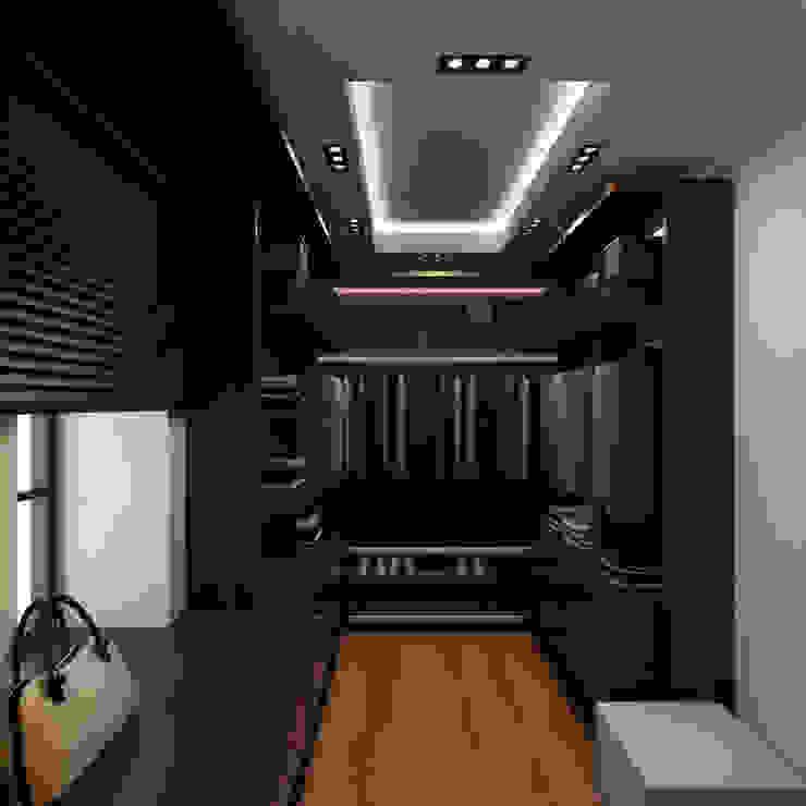 Minimalist dressing room by A-partmentdesign studio Minimalist Engineered Wood Transparent