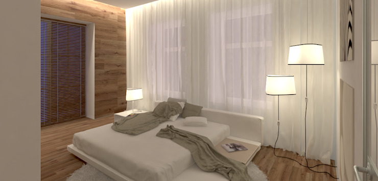 من A-partmentdesign studio تبسيطي خشب Wood effect