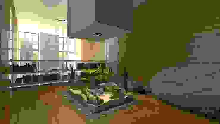 by A-partmentdesign studio Minimalist Engineered Wood Transparent