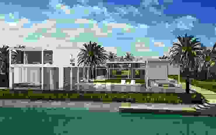 Trabajos Casas modernas de ramirez+ramirez arquitectos Moderno