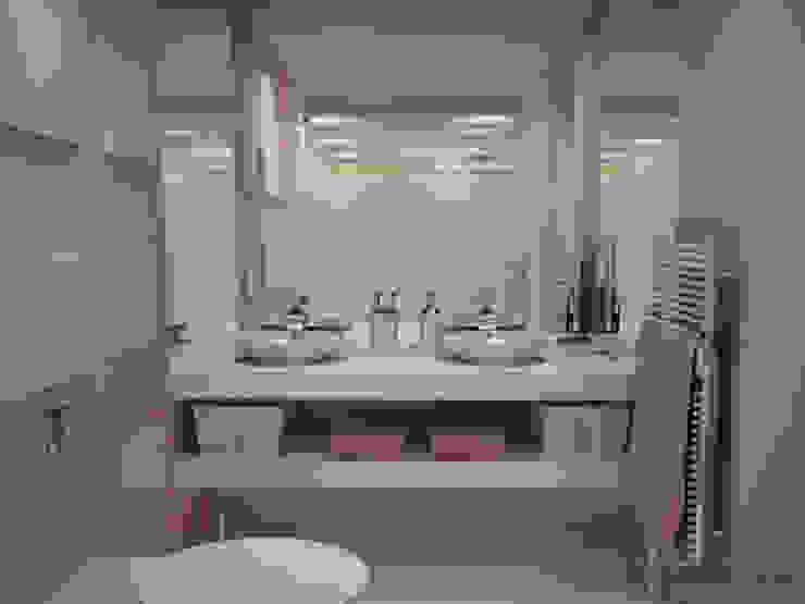 GESTION INTEGRAL DE PROYECTOS DEL NOROESTE S.L. Modern style bathrooms