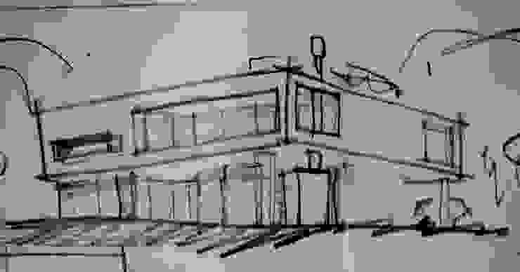CASA EN EL CANTON Casas modernas: Ideas, imágenes y decoración de Muras Oficina de Arquitectura Moderno