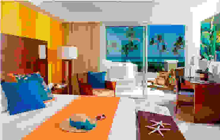 HOTEL NH EL EDEN PUNTA CANA por Marisol Tafich Hoteles de estilo tropical de Marisol Tafich Tropical