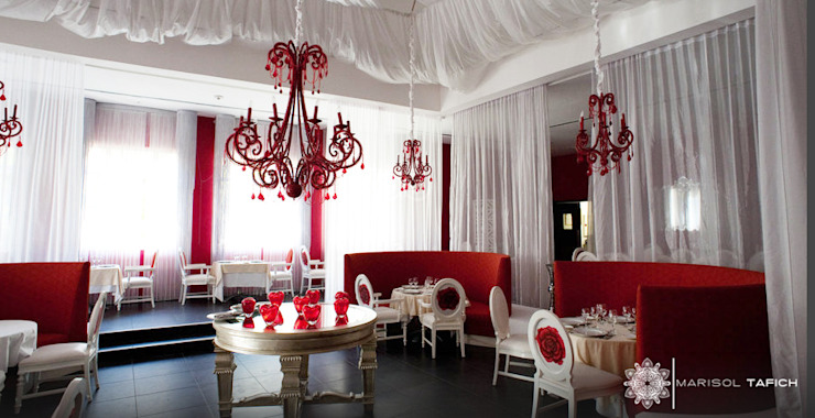 HOTEL NH EL EDEN PUNTA CANA por Marisol Tafich Hoteles de estilo moderno de Marisol Tafich Moderno