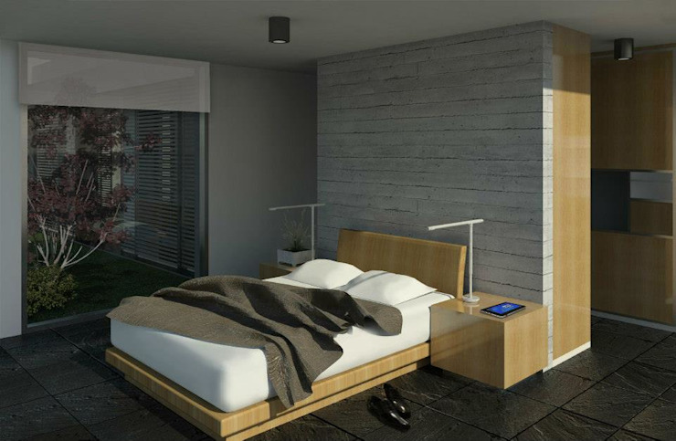 Modern style bedroom by Teje Estudio Modern