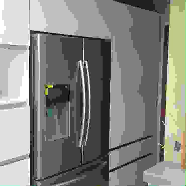 Nevera Cocinas modernas de Diseños & cocinas integrales - Divicocinas Moderno