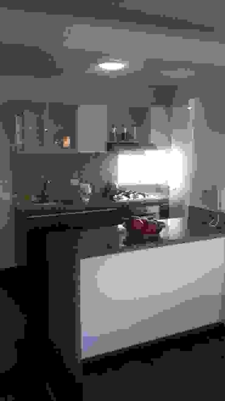 Cocina integrada 2 Cocinas modernas de Diseños & cocinas integrales - Divicocinas Moderno