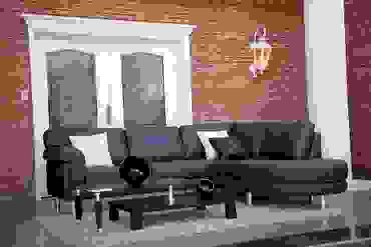 Amoblamientos en ambientes Livings modernos: Ideas, imágenes y decoración de Grundnig Haus Amoblamientos Moderno